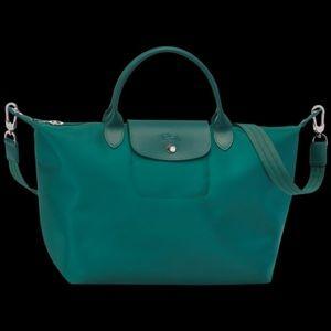 Longchamp Le Pliage Neo Tote *Emerald*